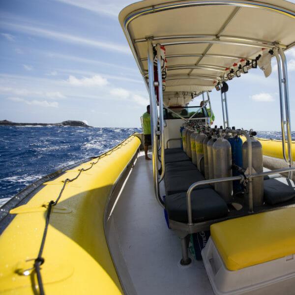 Dive Maui boat Hoku