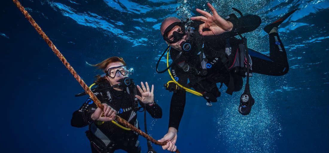 Diving lessons maui