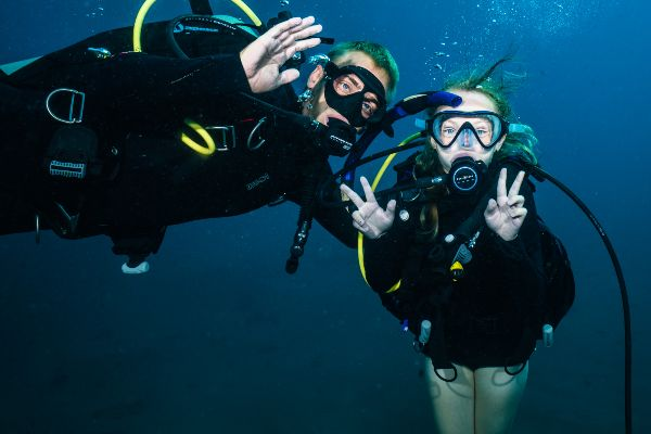 Beginner friendly dive sites on maui