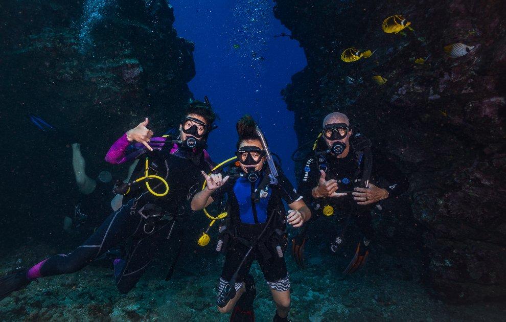 PADI Open water Maui Breaker