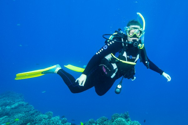 Diving Lessons for beginners